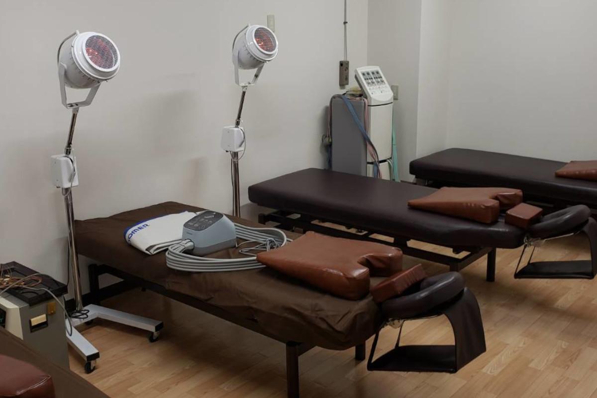 リハビリデイサービス天王台の導入機器類:干渉波治療器
