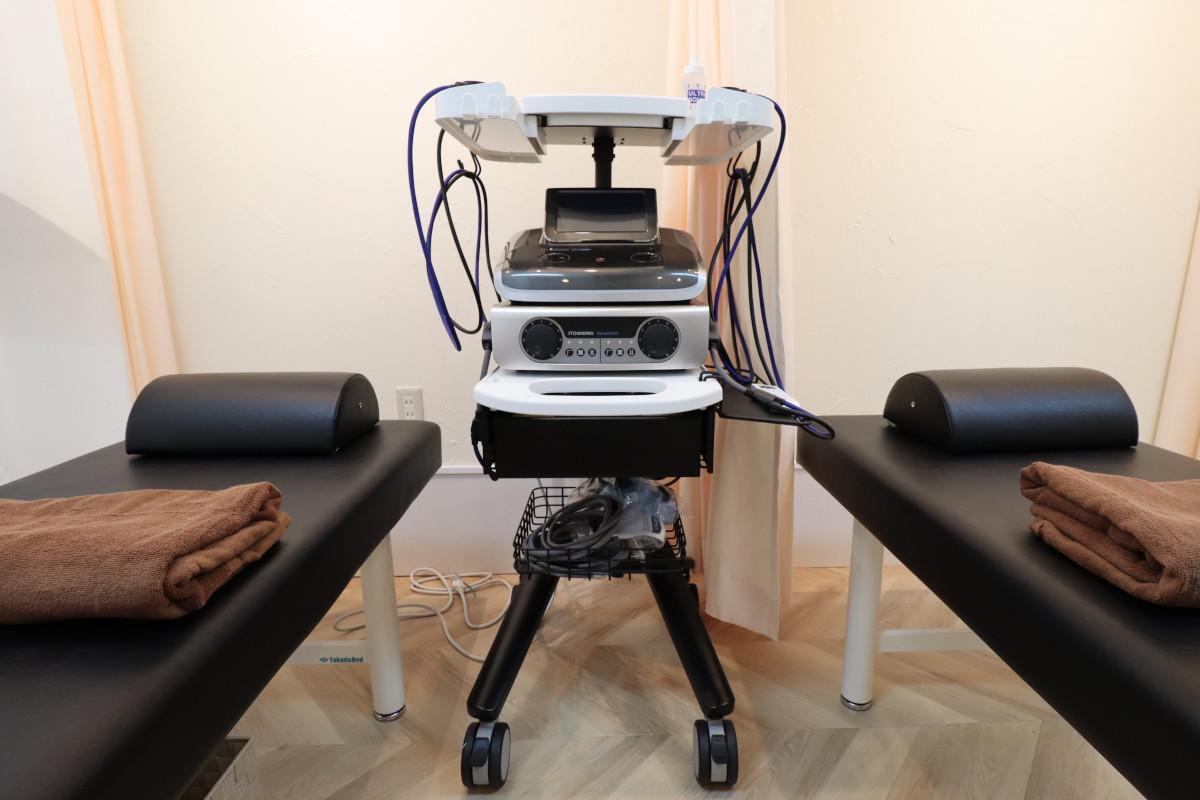 NAO接骨院の治療室内部
